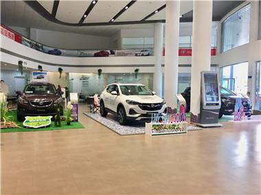 新车展示区